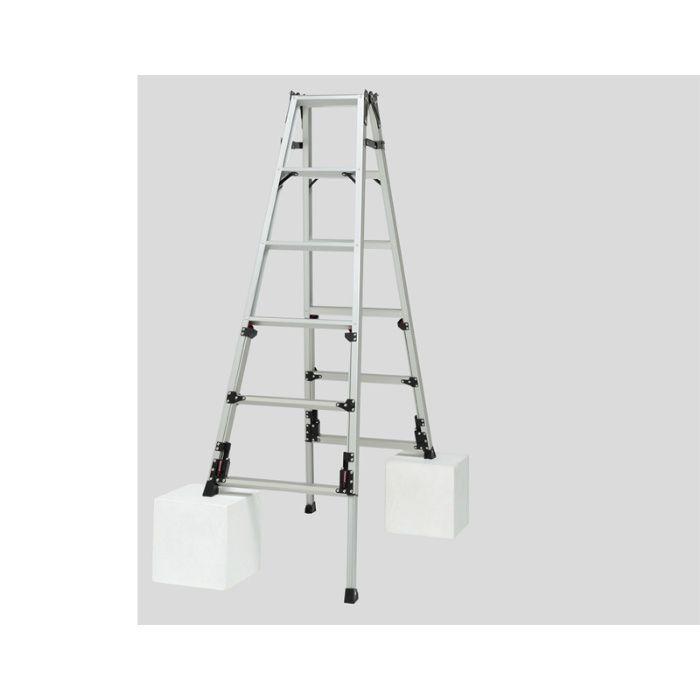 脚伸縮兼用脚立 かるノビSCN 上部操作タイプ(ピカコーポレイション) SCN-120 64-5505