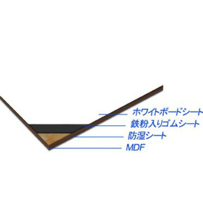 AB1MWB-MU アイアンホワイトボード 4mm (有効サイズ910mm×2400mm)
