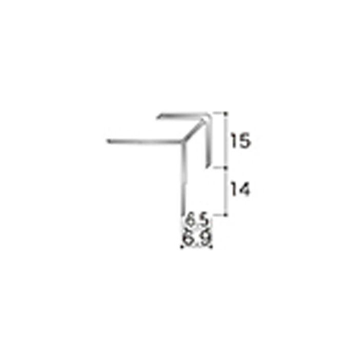 AB2JN アルミジョイナー2(出隅) 6.2mmタイプ 2430mm