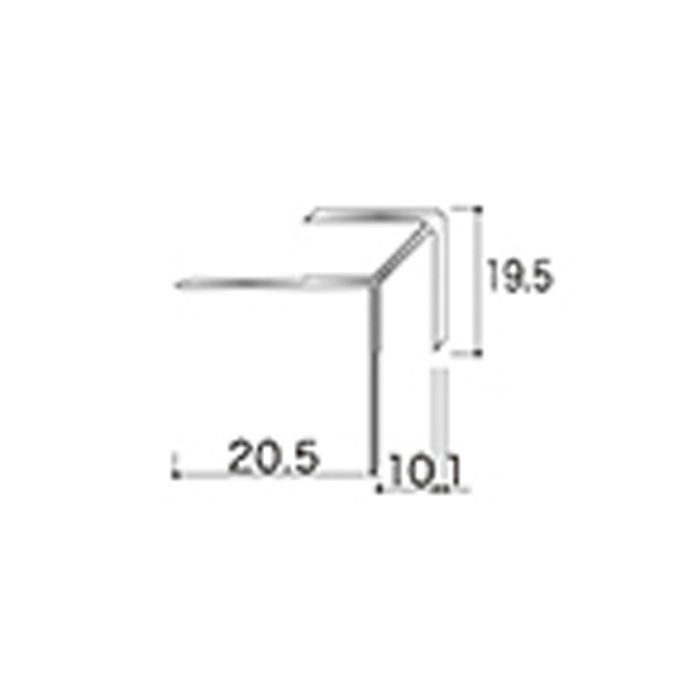 AB6JN アルミジョイナー6(出隅) 9.2mmタイプ 2730mm