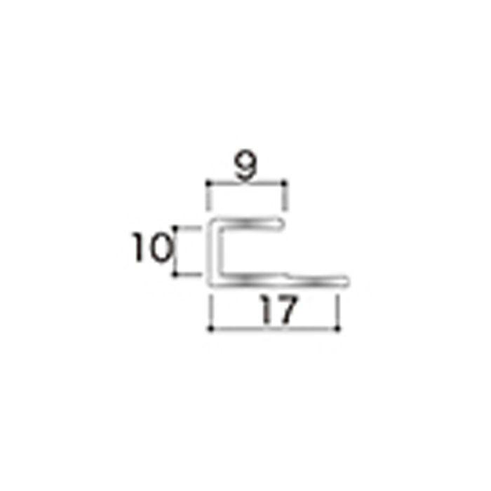 AB8JN アルミジョイナー8(見切り) 9.2mmタイプ 2730mm