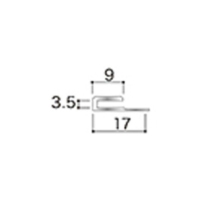 AB12JN アルミジョイナー12(見切り) 3.2mmタイプ 2730mm