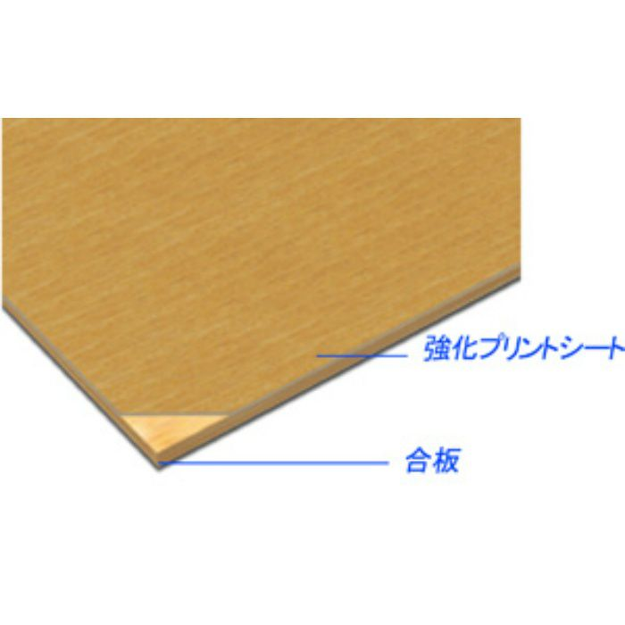 AB821SS アルプスSS プリント化粧板 2.5mm 3尺×6尺