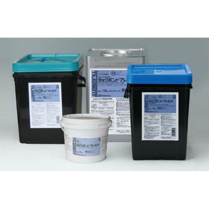 タックボンドプレミア 18kg コテ付き コンポジションタイルCFシート用接着剤 1缶