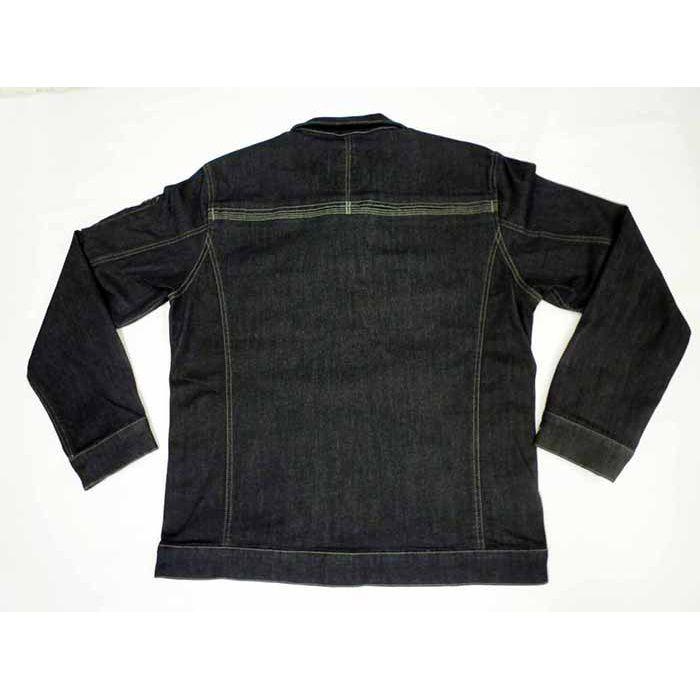 GKW-1711 ブラック LL ブルゾン ストレッチ素材