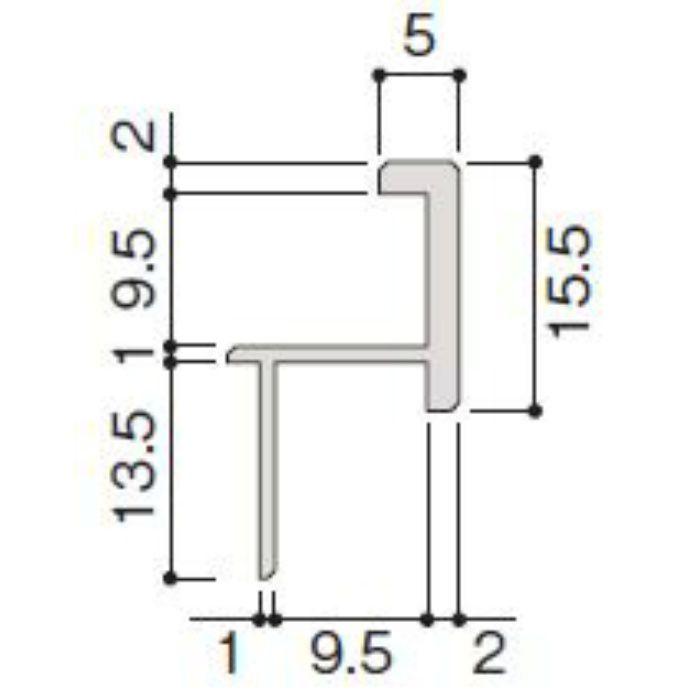 WP20-B1ZH 不燃壁材グラビオエッジ専用施工部材 アルミ出隅 ホワイト
