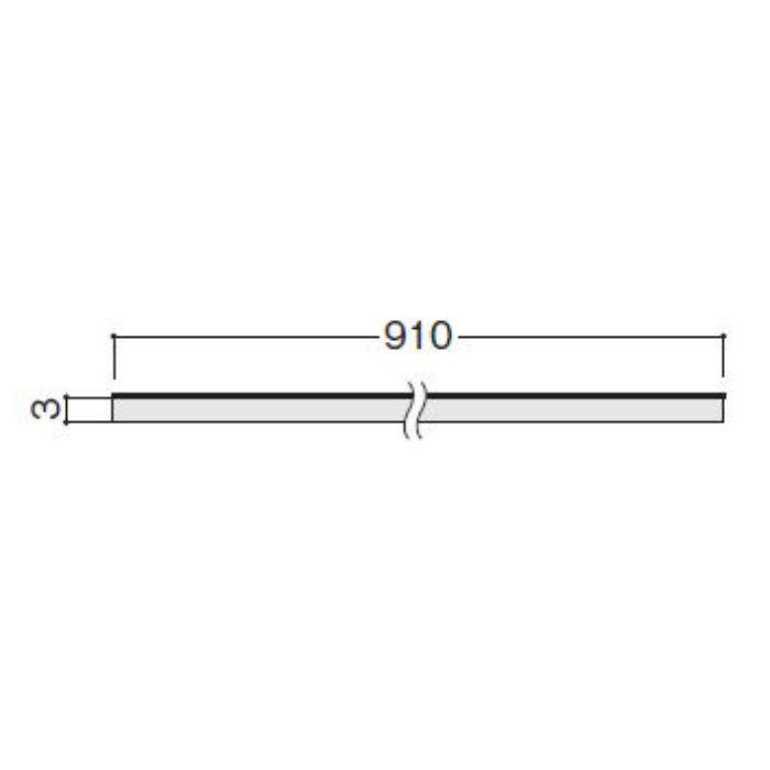 WFG3LA66-42 不燃壁材 グラビオLA ウォールナット柄(ブラウン)