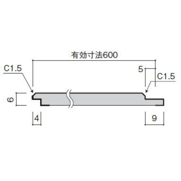 WFG6UB74-52 不燃壁材 グラビオUB 木目柄 6mm厚