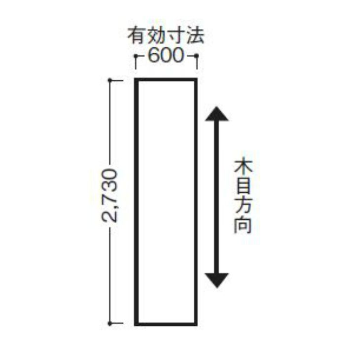 WFG6UB20-52 不燃壁材 グラビオUB 木目柄 6mm厚