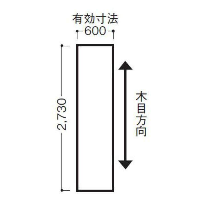 WFG6UB21-52 不燃壁材 グラビオUB 木目柄 6mm厚