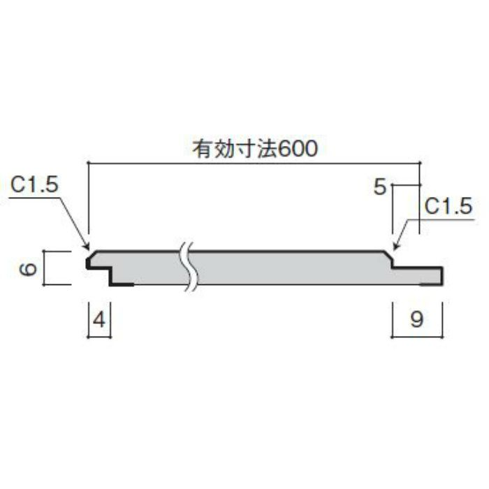 WFG6UB33-52 不燃壁材 グラビオUB 木目柄 6mm厚
