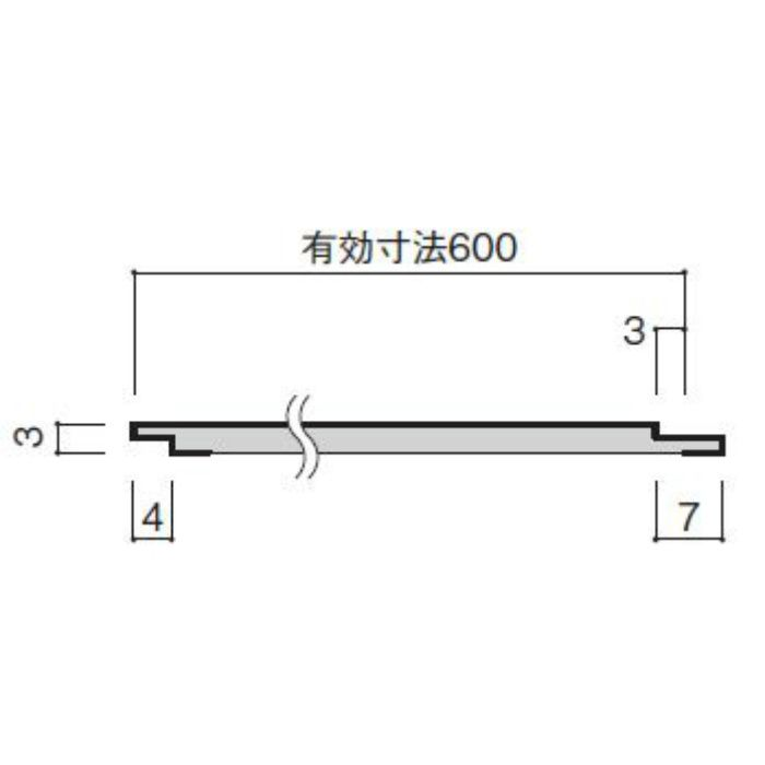 WFG3UB36-52 不燃壁材 グラビオUB 木目柄 3mm厚