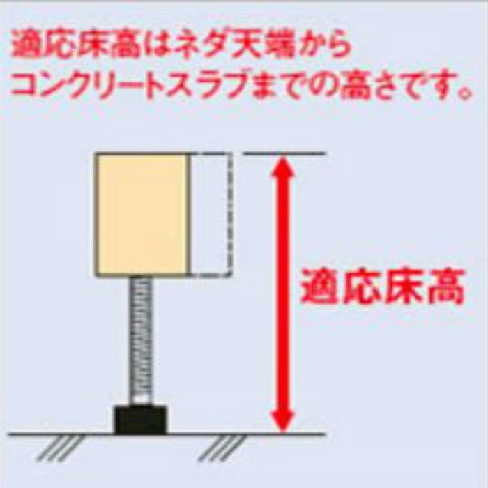 防振システムネダ NB3型(3本脚) NB3-110h (ハーフ梱包)