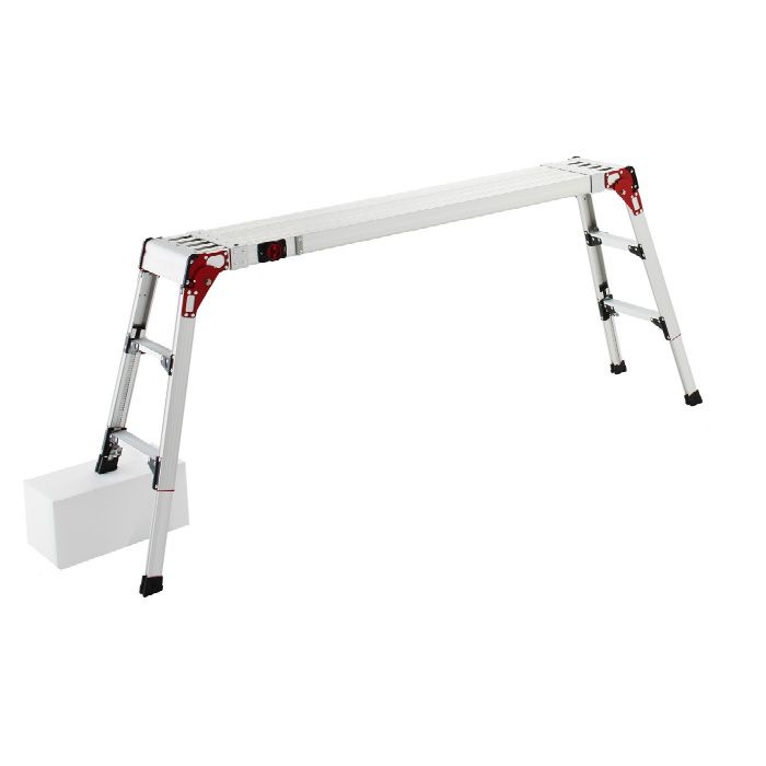 DSL1.0-2709 伸縮天板・伸縮脚付足場台