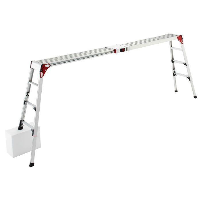 DSL1.0-2712 伸縮天板・伸縮脚付足場台