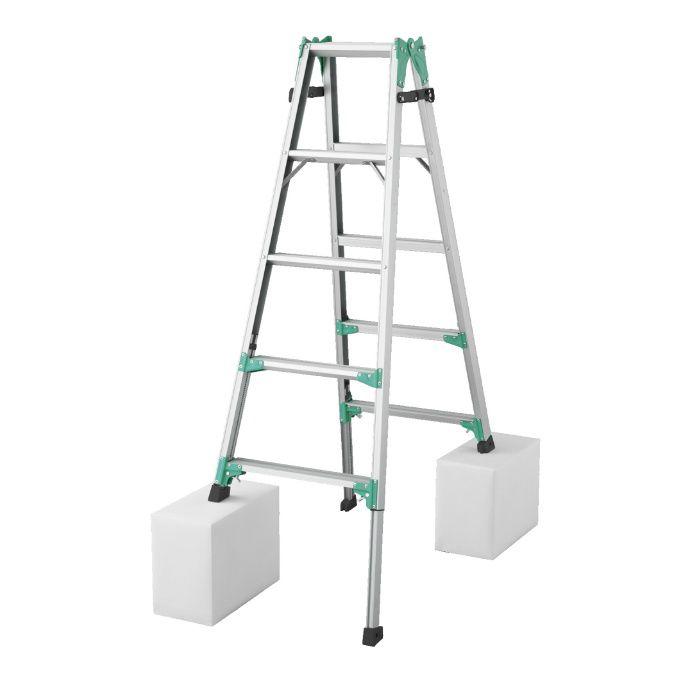 RYZ1.0-15 脚部伸縮式はしご兼用脚立