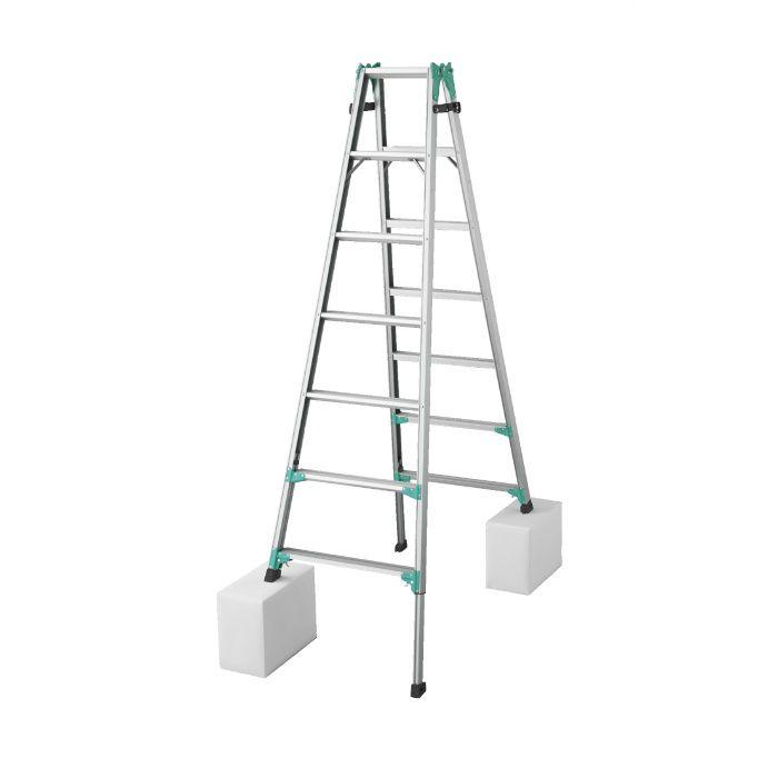 RYZ1.0-21 脚部伸縮式はしご兼用脚立