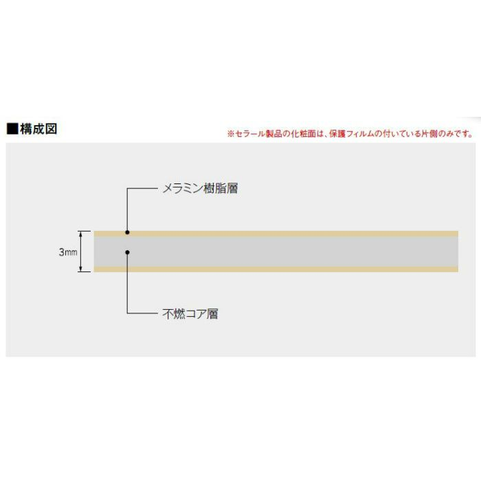 FKM6000ZGN セラール 3×8 2枚入
