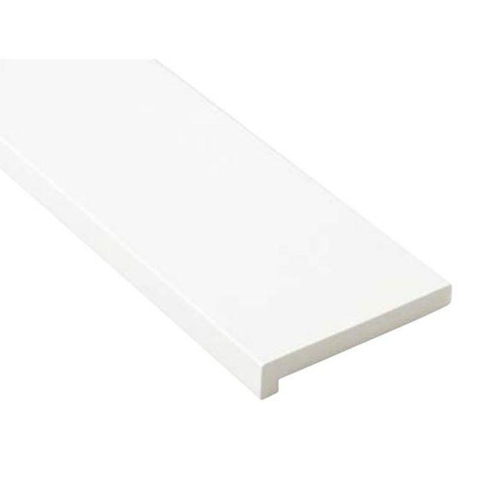 SP-7003-WT 抗菌樹脂枠 三方枠 L字タイプ 標準サイズ ホワイト 間口=800mm
