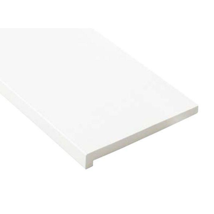 SP-8005-UW 抗菌樹脂枠 三方枠 L字タイプ 幅広サイズ ウッドホワイト 間口=1600mm