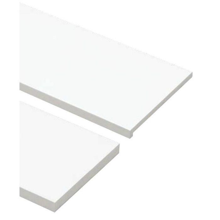 SP-8004UM24-WT 抗菌樹脂枠 三方枠 複合タイプ 幅広サイズ ホワイト 間口=2200mm
