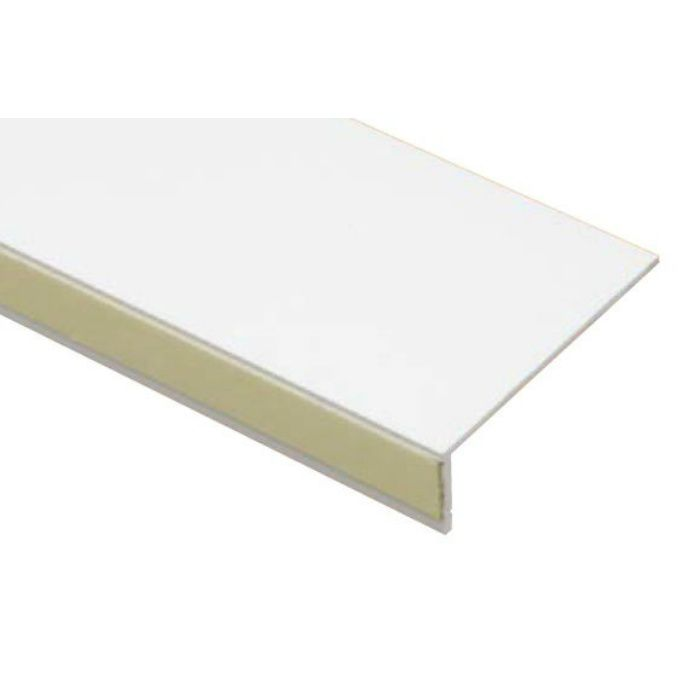 SP-SK150-L23-WT 抗菌樹脂枠 隙間化粧カバー L字タイプ ホワイト 22mm×150mm×2380mm