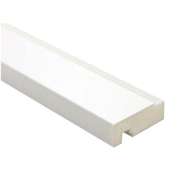 SP-80M24-2208-WT 抗菌樹脂枠 三方枠マンション用 ホワイト 竪枠80H、横枠78W
