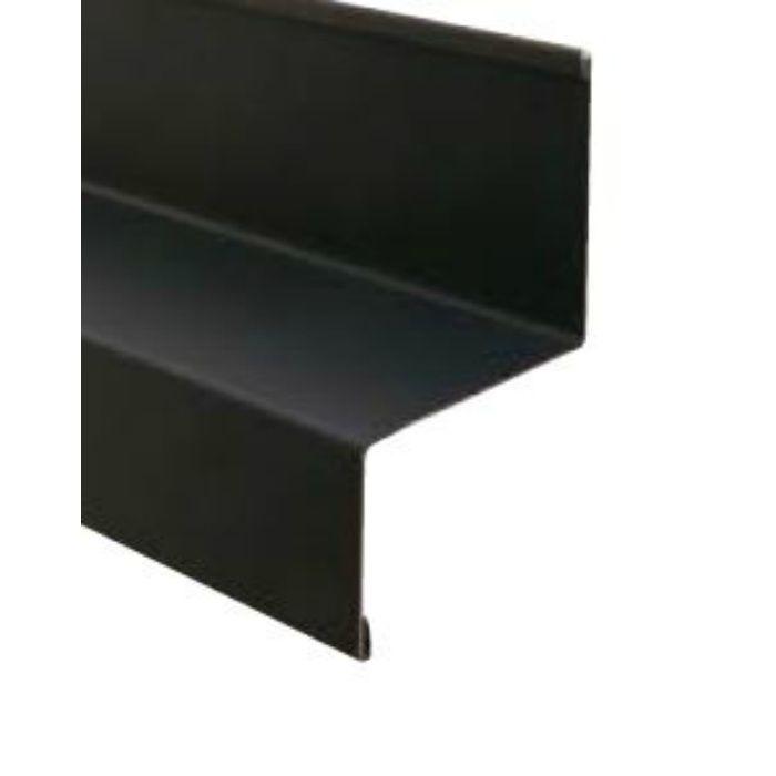 WSF-40-BK 水切り(鋼板製) ブラック 出幅40mm