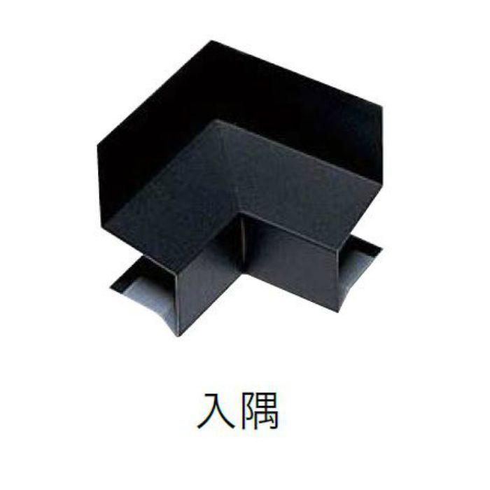 WSF-40SI-BK 水切り(鋼板製) 入隅 ブラック