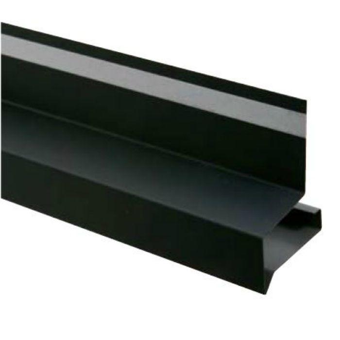 HF-A3550-BK オーバーハング(穴なしタイプ) ブラック 出幅35mm ガルバリウム鋼板