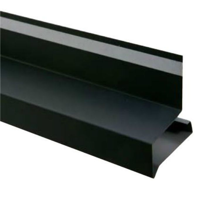 HF-A4560-BK オーバーハング(穴なしタイプ) ブラック 出幅45mm ガルバリウム鋼板