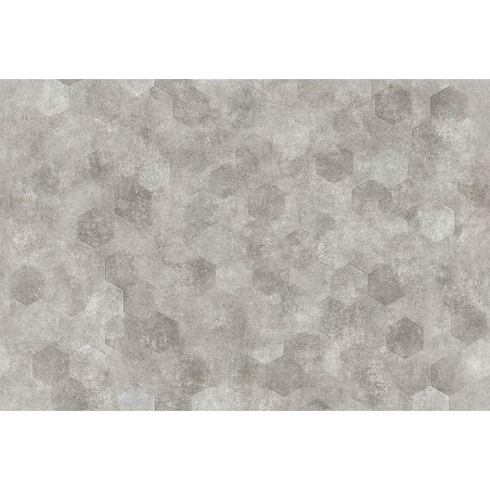 FS3003 ビニル床シート マチュアNW ヘキサモルタル 2.0mm厚 石
