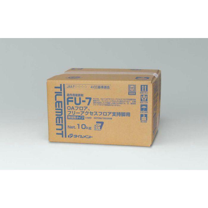 【壁・床スーパーセール】FU-7 BIB 10kg OAフロア・フリーアクセスフロア支持脚用接着剤 1パック/ケース