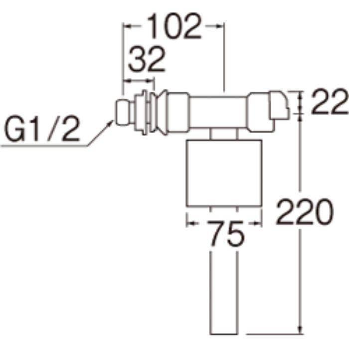 V530-5X-13 万能ロータンクボールタップ
