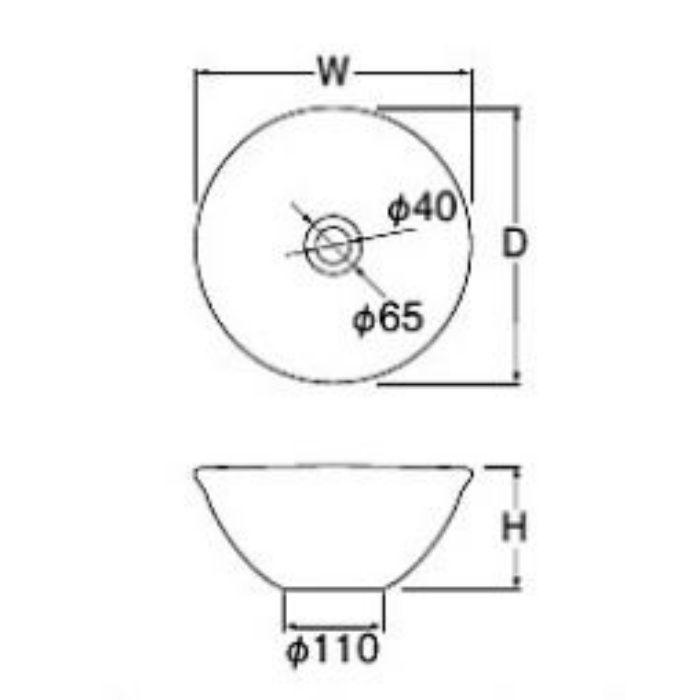 HW1023-S-011 「利楽」 手洗器 甘露