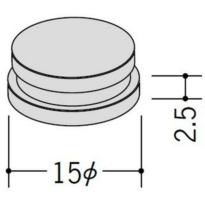 投入口キャップ ホワイト 57043-2