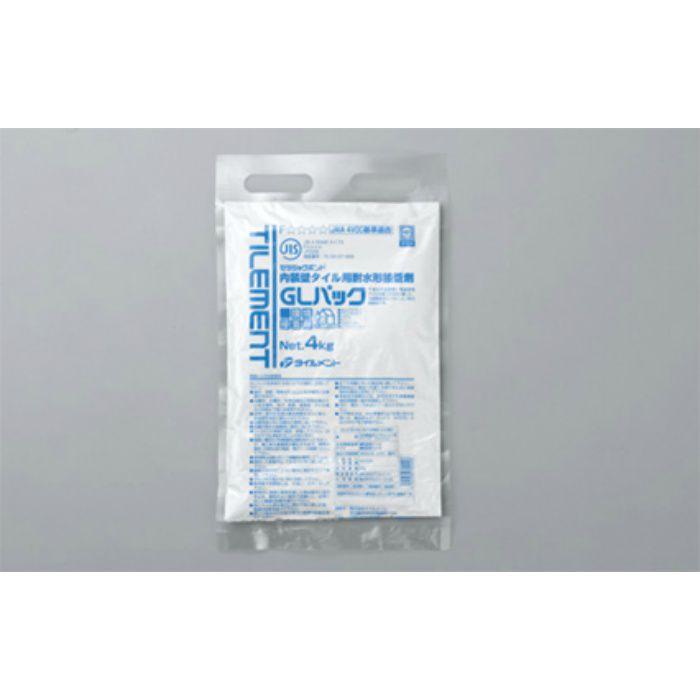 GLパック 4kg 内装壁タイル張り用耐水形接着剤 4袋/ケース