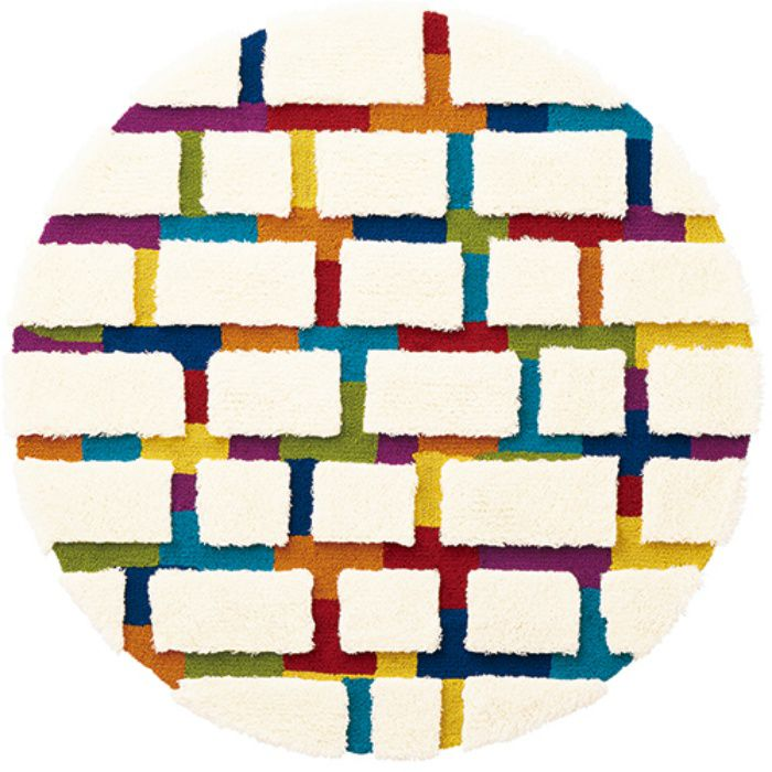TOR3847 ラグカーペット Pop & Colorful