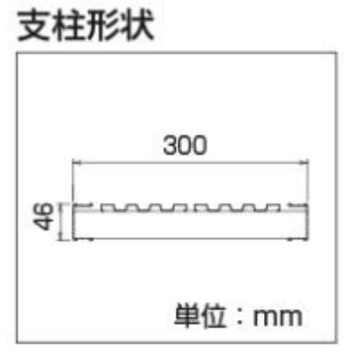 DRS2.0-1000 アルミ 伸縮式足場台