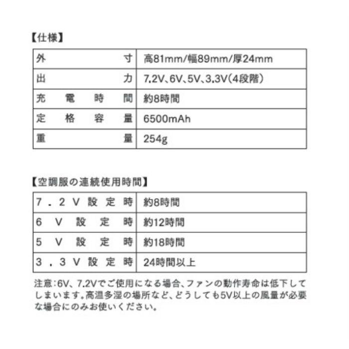 BTUL1 リチウムイオン大容量バッテリー