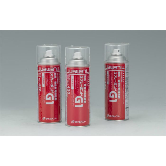 【壁・床スーパーセール】スプレーボンド G1 420ml 断熱・吸音材用接着剤 20缶/ケース
