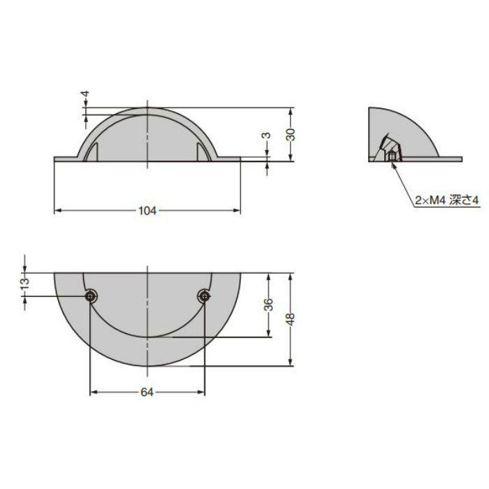 ハンドルCAHN-I-3771-I C&Aウェールズデザイン CAHN-I-3771-I