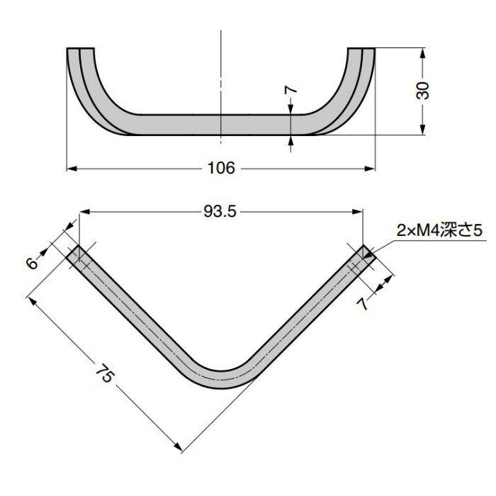 ハンドル MB0913900型 MB0913900NP1