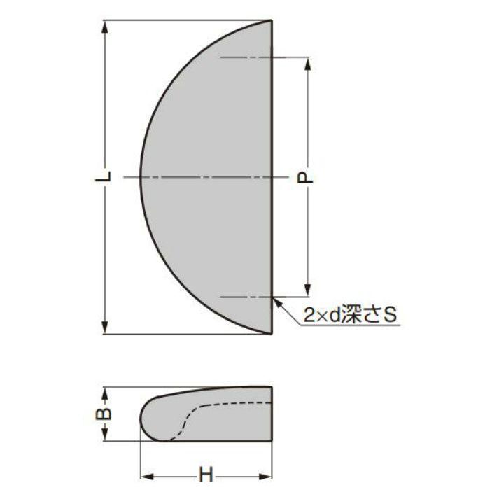 ランプ印 取手 RD型 RD-55CR