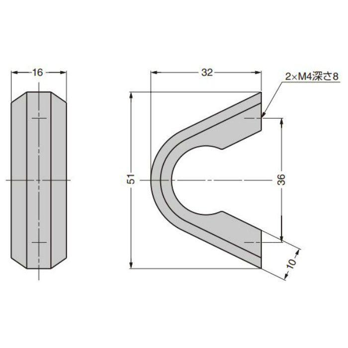 ZweiL ステンレス鋼製 つまみ ZL-1903 ZL-1903