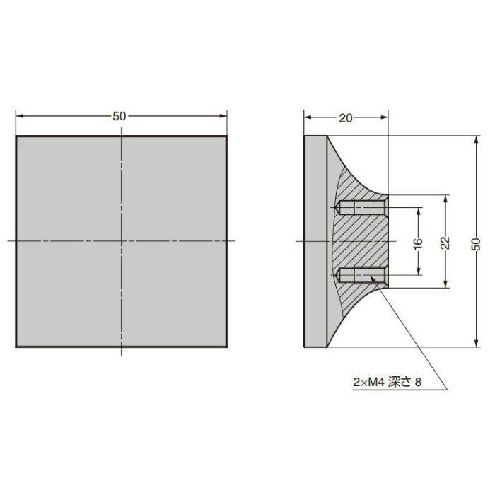 つまみ CAKB-I-3871-50-I C&Aウェールズデザイン CAKB-I-3871-50-I