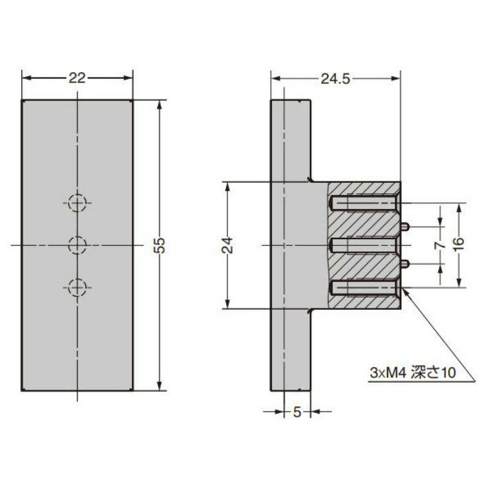 つまみ CAKB-I-4055-55-I C&Aウェールズデザイン CAKB-I-4055-55-I