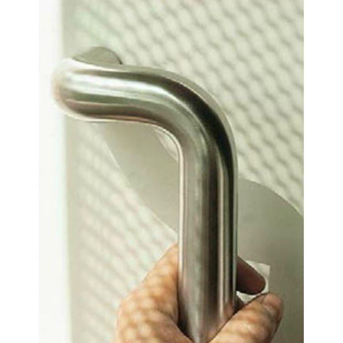 ステンレス鋼製 ドアハンドル 14-463型 木製ドア用 片面取付 座なし S  14-463S-WS
