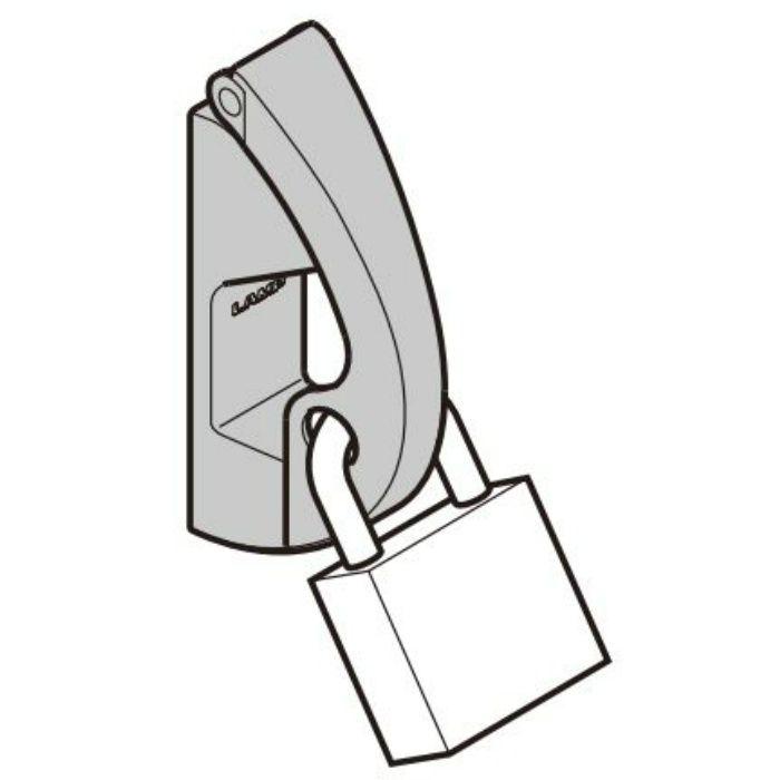 ランプ印 ステンレス鋼製ナス環フック EN-R80-K 南京錠対応 EN-R80-K