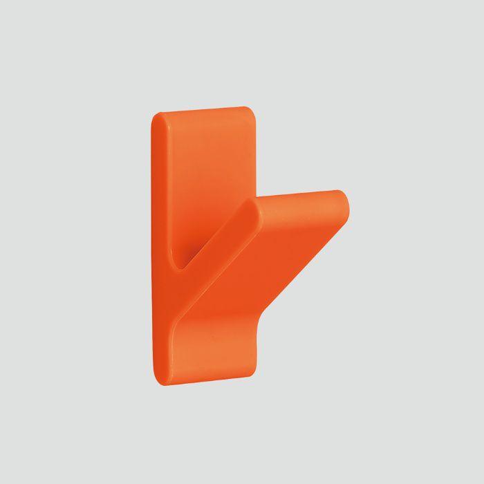 ランプ印 フック PXB-GN05M-101型 マグネットタイプ ノルディックラバー®シリーズ セット オレンジ PXB-GN05M-101-YR
